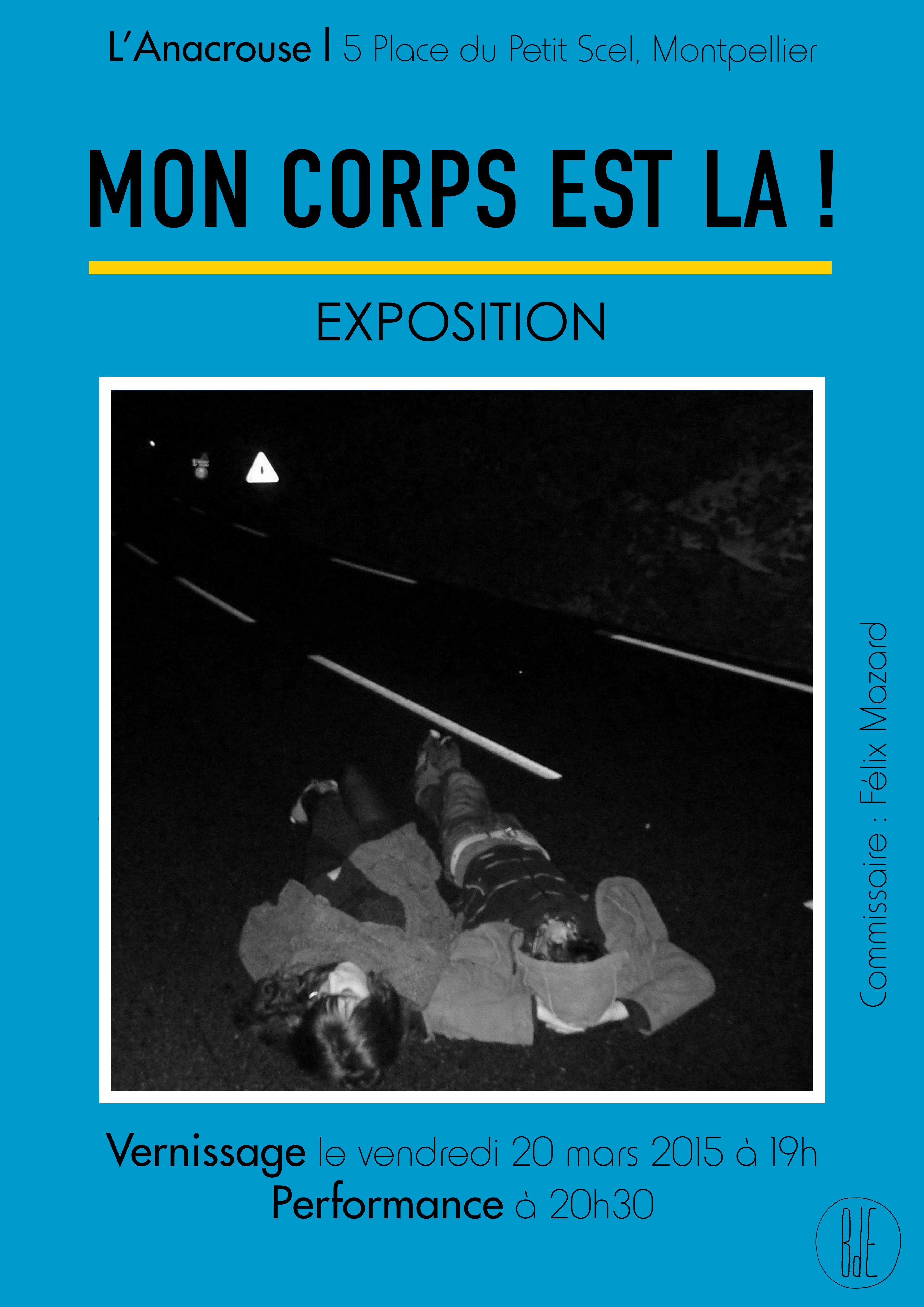 Expo Mon corps est là ! vernissage le 20 mars 2015